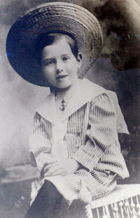 Byron C. Hedblom as Young Boy